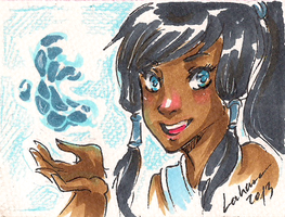 Shoujo Card - Korra by Lahara