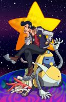 A Dandy in Space by Quatrina