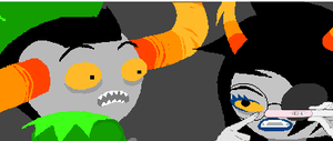 vRISKA NO, by HalfGreenHalfPurple
