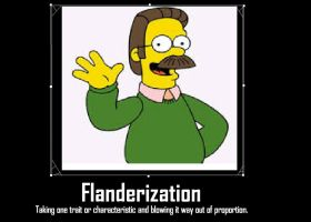 Flanderization by Chaser1992