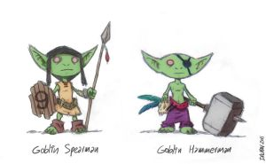 Dwarf Fortress Goblins by kennydalman