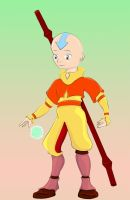 Aang in Colour by rainetomoe