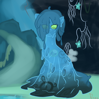 slime pony by umbraldissonance