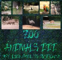 Zoo Animals Pack III by Lengels-Stock