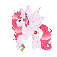 Strawberry Glimmer-PC for chris9801 by Chocoecaramell