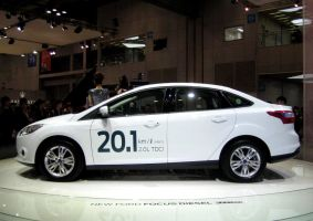 Lovely and Efficient, new Ford Focus Sedan Diesel by toyonda