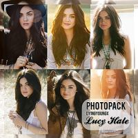 Photopack Lucy Hale by Dyingyoungx