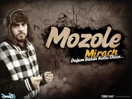 MozoleMirach Birthday Wallpaper by ManiaGraphic