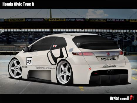 Honda Civic Type R Project 23 by arna1