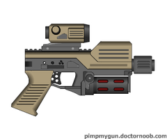 Energy handgun Icarus by Robbe25