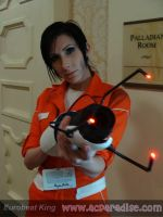 Chell from Portal 2 by lanieball