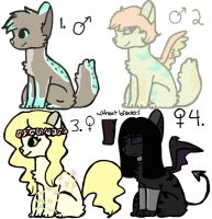 Adopts 1/4 OPEN by gaybinge