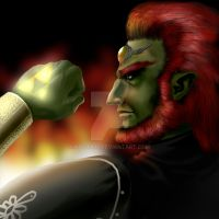 ganondorf:king of evils by kouta77