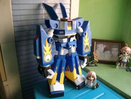 Papercraft M.E.G.A.S. Download by MarcGo26