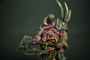 Champion of Nurgle by szydlak-paints-minis