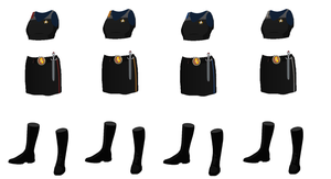 ISS Vanguard Female Officers Uniform variant 4 by docwinter