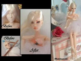 Odette   Obitsu OOAK  Doll Customized by Katerina-Art
