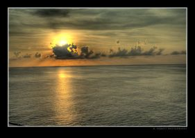 Ocean Sunset by rpieratt