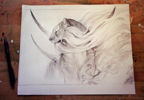 The God of Evanescence by AlectorFencer