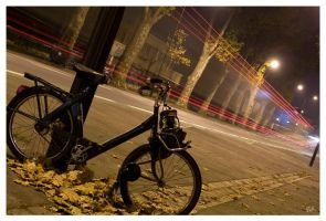 Solex in the night by salviphoto