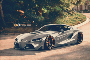 Toyota FT-1 by OverdozeCreatives