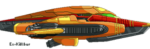 Metroid - Hunter-class Gunship by Ex-Kalibur
