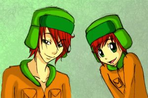 SP: Kyle kid and teen by SammYJD