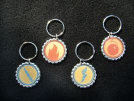 TF2 Team Fortress 2 Class Keychains by Monostache