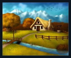 4 Seasons - Autumn by geci