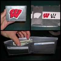 Wisconsin Duct Tape Wallet by jjpotter