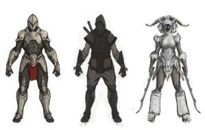 Infinity Blade Bad guys by BeLew32
