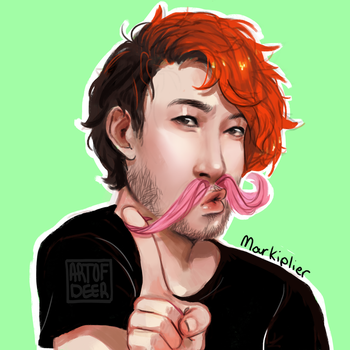 Markiplier by ArtOfDeer