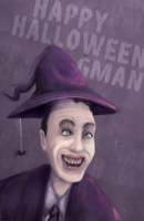 Gman's halloween by Mafer