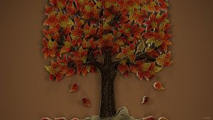 Needlepoint Tree by kuzy62
