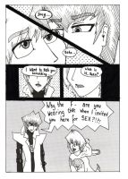 Seto and Joey - Doujin style by CharlieIsAMystery
