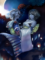 Final Fantasy X - Macalania woods by acetea-san