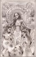 Oak, Ash and Thorn by PinkParasol