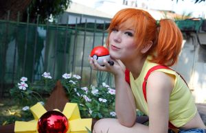 Misty - Kasumi Pokemon Cosplay - Pokeball go!
