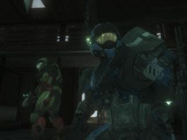 Halo Reach: It's Messy by Guyver89