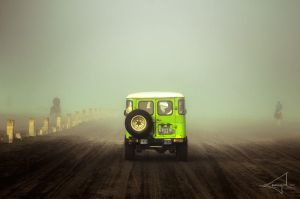 Arriving at Mount Bromo by Usayed