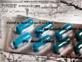 Pills and HighHeel Blues by Dave-M