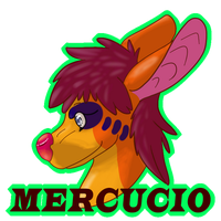 Mercucio badge by minecraftfox