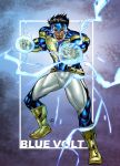 Commish : Blue Volt by wansworld