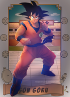 DBZ: Son Goku by longlovevegeta