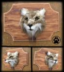 Timber wolf wall art sculpture! by CreaturesofNat