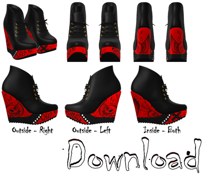 DOWNLOAD: Booties Style 1 by DisastrousBunny