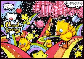 Chocobo Racing-Life is a game. by PeterPan-Syndrome