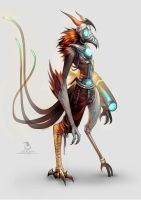 Cybernetic Avian by Landylachs