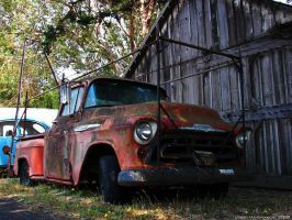 Abandoned Tri-Five 1 by wbmj-photo
