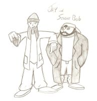 Jay and Silent Bob by Spence2115